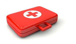 a picture of a first aid box