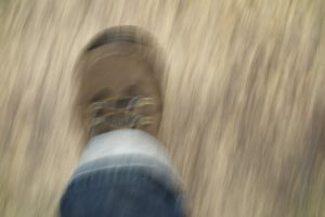 a picture of a walking boot